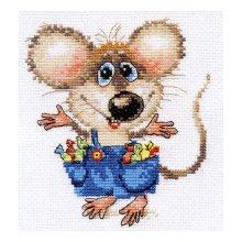 0-104 Набор для вышивания 'Алиса' 'Будет праздник!', 12х13 см