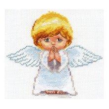 0-109 Набор для вышивания 'Алиса' 'Мой ангел!', 14х13 см