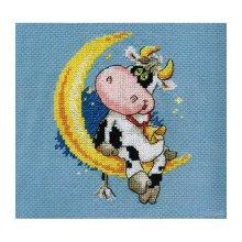 0-117 Набор для вышивания'Алиса' 'Сладких снов', 10х13 см
