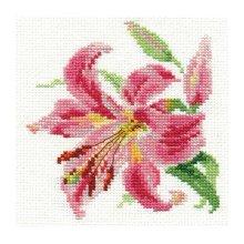 0-118 Набор для вышивания 'Алиса' 'Лилия', 11х12 см