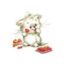 0-123 Набор для вышивания 'Алиса' 'Сладкая конфетка', 13х13 см