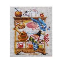 0-128 Набор для вышивания 'Алиса' 'Медовая кладовушка', 15х19 см