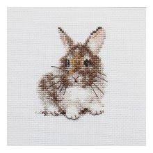 0-170 Набор для вышивания 'Алиса' 'Крольчонок', 9х7 см