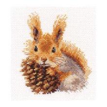 0-173 Набор для вышивания 'Алиса' 'Белочка', 11х12 см