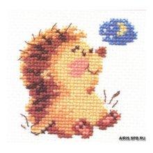 0-20 Набор для вышивания 'Алиса' 'Доброй ночи', 7х7 см