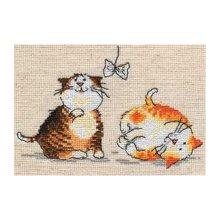 0-30 Набор для вышивания 'Алиса' 'Цап-царап', 15х10 см