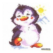 0-32 Набор для вышивания 'Алиса' 'Пингвинёнок', 9х11 см