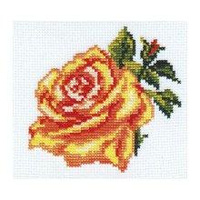0-41 Набор для вышивания 'Алиса' 'Роза', 10х10 см