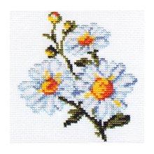 0-42 Набор для вышивания 'Алиса' 'Ромашки', 10х11 см