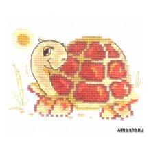 0-60 Набор для вышивания 'Алиса' 'Черепашка', 10х7 см