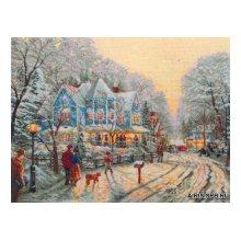 01131-5678000 Набор для вышивания MAIA 'Собираясь на праздник', 45x34 см