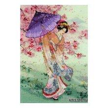 01145-5678000 Набор для вышивания MAIA 'Юмезакура', 40x27 см