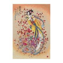 01205-5678000 Набор для вышивания MAIA 'Богиня процветания' 40х27 см