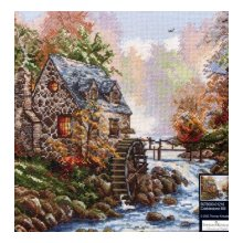 01216-56780000 Набор для вышивания MAIA 'Водяная мельница', 25х32 см