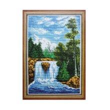 039 Набор для вышивания Lutars 'Река', 17х26 см