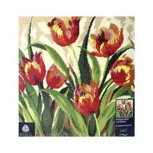 09009-5678000 Набор для вышивания MAIA 'Романтичные тюльпаны' 40х40 см
