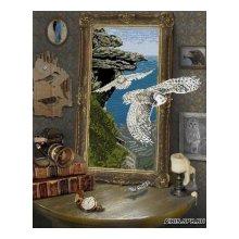 10111 Набор для вышивания Краса и творчество 'Полет совы' 46,8х57,4 см