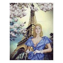 11013 Набор для вышивания Краса и творчество 'Сказочный город' 30,5х40 см
