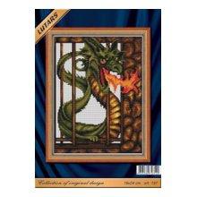 197 Набор для вышивания 'Железный дракон'