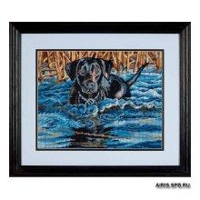 20071-DMS Набор для вышивания Dimensions 'Холодная вода, горячее сердце' 36х28 см