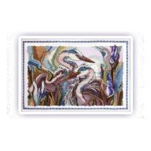 300 Набор для вышивания крестом Astrea 'Тайна любви' 37х26 см