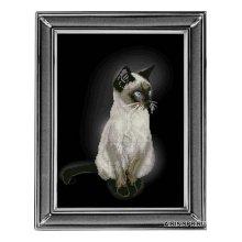 70912 Набор для вышивания Краса и творчество 'Сиамская кошка' 21,8х29,7 см