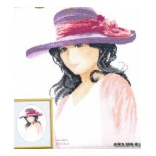 724JLJE Набор для вышивания HERIT 'Джессика' 25х18,5 см