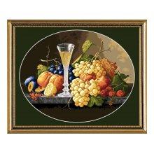 G-1006 Набор для вышивания 'Гобелен Классик' 'Натюрморт с бокалом вина', 27,5х22 см