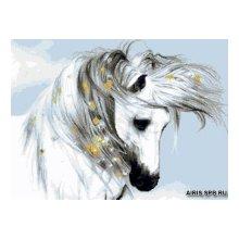 G-1102 Набор для вышивания 'Гобелен Классик' 'Лошадь', 22х30 см