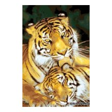 G-1112 Набор для вышивания 'Гобелен Классик' 'Тигры', 20х30 см