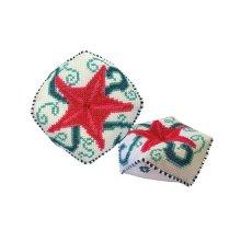 М-031 Набор для изготовления игольницы 'Морская звезда', 9,5х9,5 см