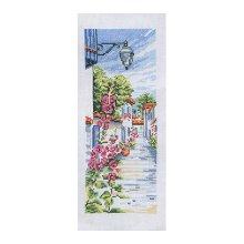 MRMK1964-4317 Набор для вышивания MARGOT 'Цветущая улица' 25х40 см