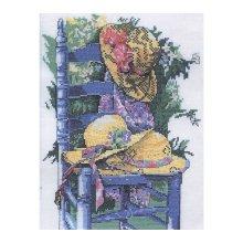 MRMK1973-4822 Набор для вышивания MARGOT 'Голубой стул' 35х50 см