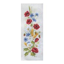 MRMK1992-4363 Набор для вышивания MARGOT 'Полевые цветы' 30х50 см