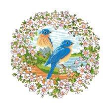 Набор для вышивания 'Весна' 35х35 см