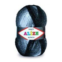 Пряжа ALIZE 'Альпака Фэнси' (15% шерсть, 15% альпака, 70% акрил)