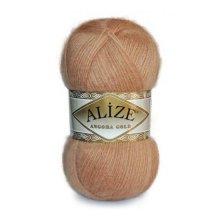 Пряжа ALIZE 'Angora Gold' 100 гр. 550 м (80% акр, 10% шерсть, 10% мохер) ТУ