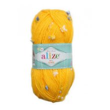 Пряжа ALIZE 'Baby flower' 100 гр. 210 м. (94% акрил, 6% полиамид)