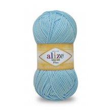Пряжа ALIZE 'Cotton Gold Plus' 100 гр., 200 м. (55% хлопок, 45% акрил) ТУ