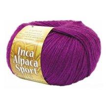 Пряжа 'Inca Alpaca Sport' (50% акрил, 35% альпака, 15% шерсть)