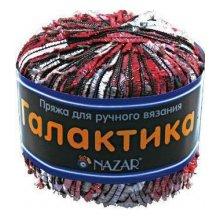 Пряжа NAZAR 'Галактика' (80% полистер, 20% люрекс)