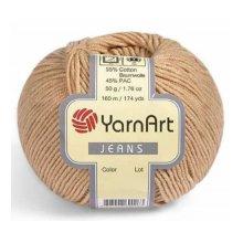 Пряжа Yarn art 'Jeans' (55% хлопок, 45% полиакрил)