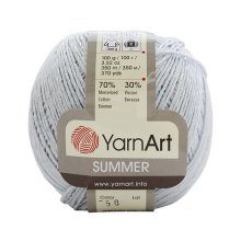 Пряжа Yarn art 'Sammer' (70% хлопок, 30% вискоза)