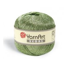 Пряжа Yarn art 'Vegas' ( 60% вискоза, 40% люр.) ТУ