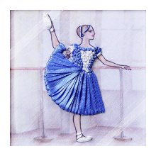 ВЛБС0005 Набор для вышивания лентами Woman-Hobby 'Серия Балерины', 13,5х13,5 см