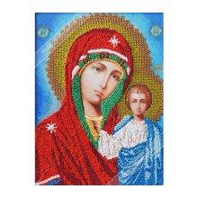 ВЛИС0004 Набор для вышивания лентами Woman-Hobby 'Божья матерь Казанская', 20,5х27,5 см