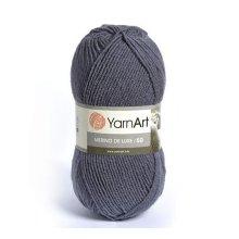 Пряжа Yarn art 'Merino de Lux' (50% шерсть, 50% акрил)