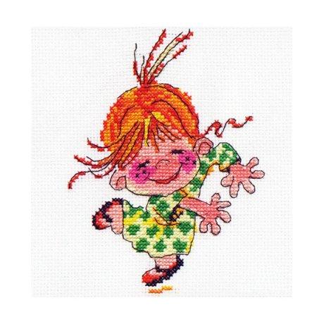 0-15 Набор для вышивания 'Алиса' 'Клара', 11х14 см