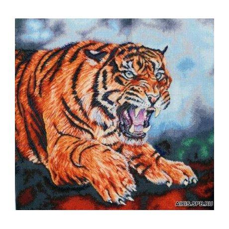 BK1125 Набор для вышивания DMC 'Тигр' 46х46 см