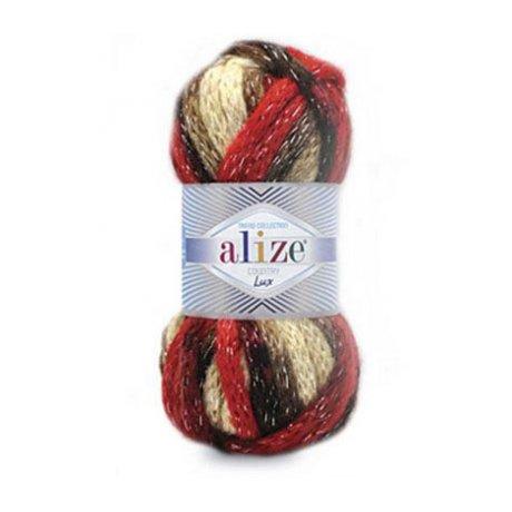Пряжа ALIZE 'Country lux' 100 гр., 32 м. (20% шерсть, 25% полиамид, 52% акрил, 3% металлик) ТУ